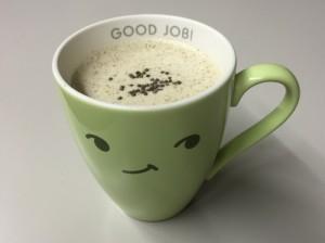 えごまコーヒー豆乳